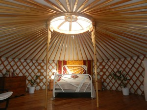 Yurts, green retreats and carbon neutral accommodation have become popular with those seeking to reduce their impact on the environment