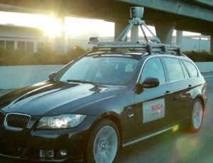 Bosch driverless concept car