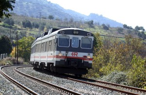 Spanish railways RENFE train