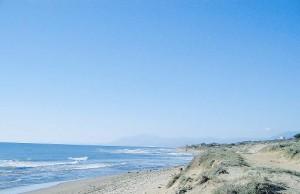 Cabopino beach Costa del Sol
