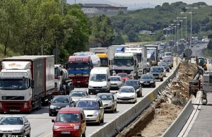 DELAYS: Cutbacks stall road construction in Andalucia