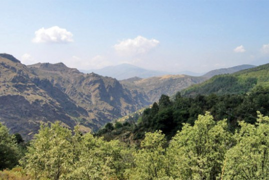 Andalucia mountain views